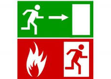 Affichette secu incendie